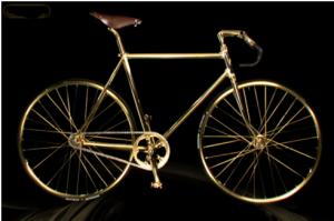 Aurumania crystal Edition Gold Bike