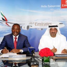 emirates tie up