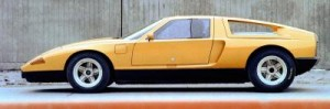 Mercedes-Benz research car C 111-II with four-rotor Wankel enigne, 1970.