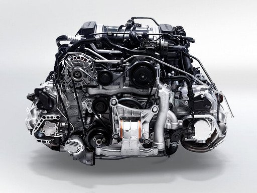 911 Carrera Engine