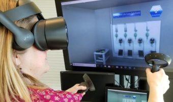 GE VR training tool