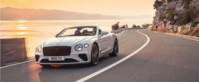 New Bentley Continental GT Convertible
