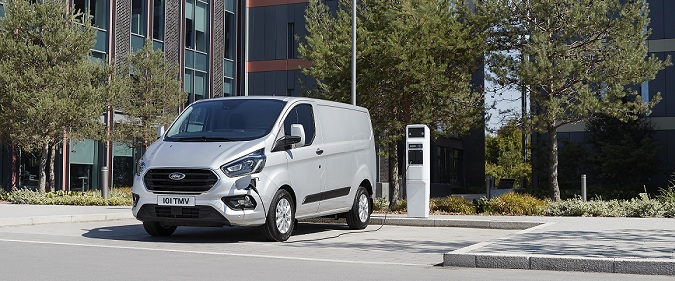 Ford Transit Custom PHEV 2018