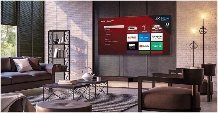7 inch 4K TV