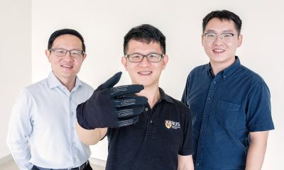 NUS researchers develop new smart gaming glove
