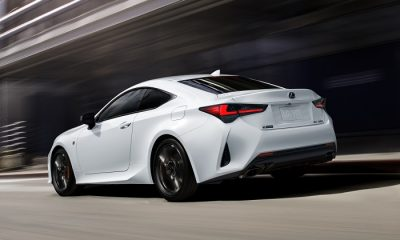 2021 LEXUS RC AND RC BLACK LINE SPECIAL EDITION