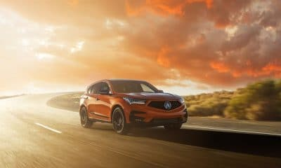 Acura Reveals 2021 RDX PMC Edition in Stunning Thermal Orange Pearl Paint