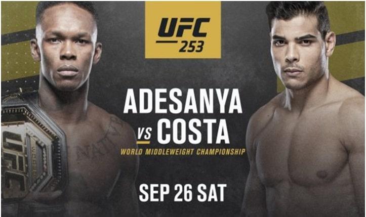 Adesanya Looks Past UFC 253, Plots His Future
