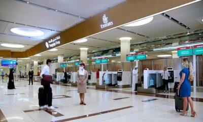 Emirates Self Check-in Kiosks in Dubai