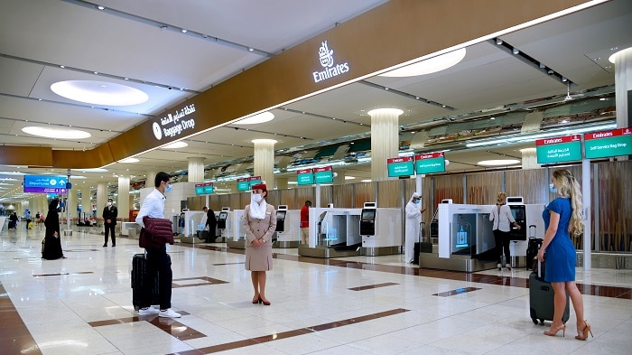 Emirates Self Check-in Kiosks in Dubai