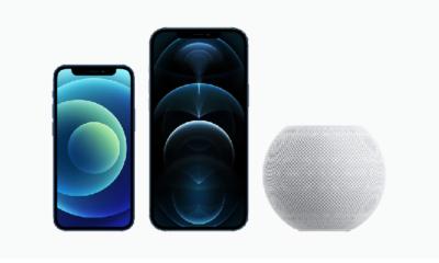 iPhone 12 Pro Max, iPhone 12 mini, HomePod mini