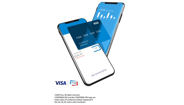 In collaboration with Conferma Pay, Visa helps businesses quickly digitize B2B payments