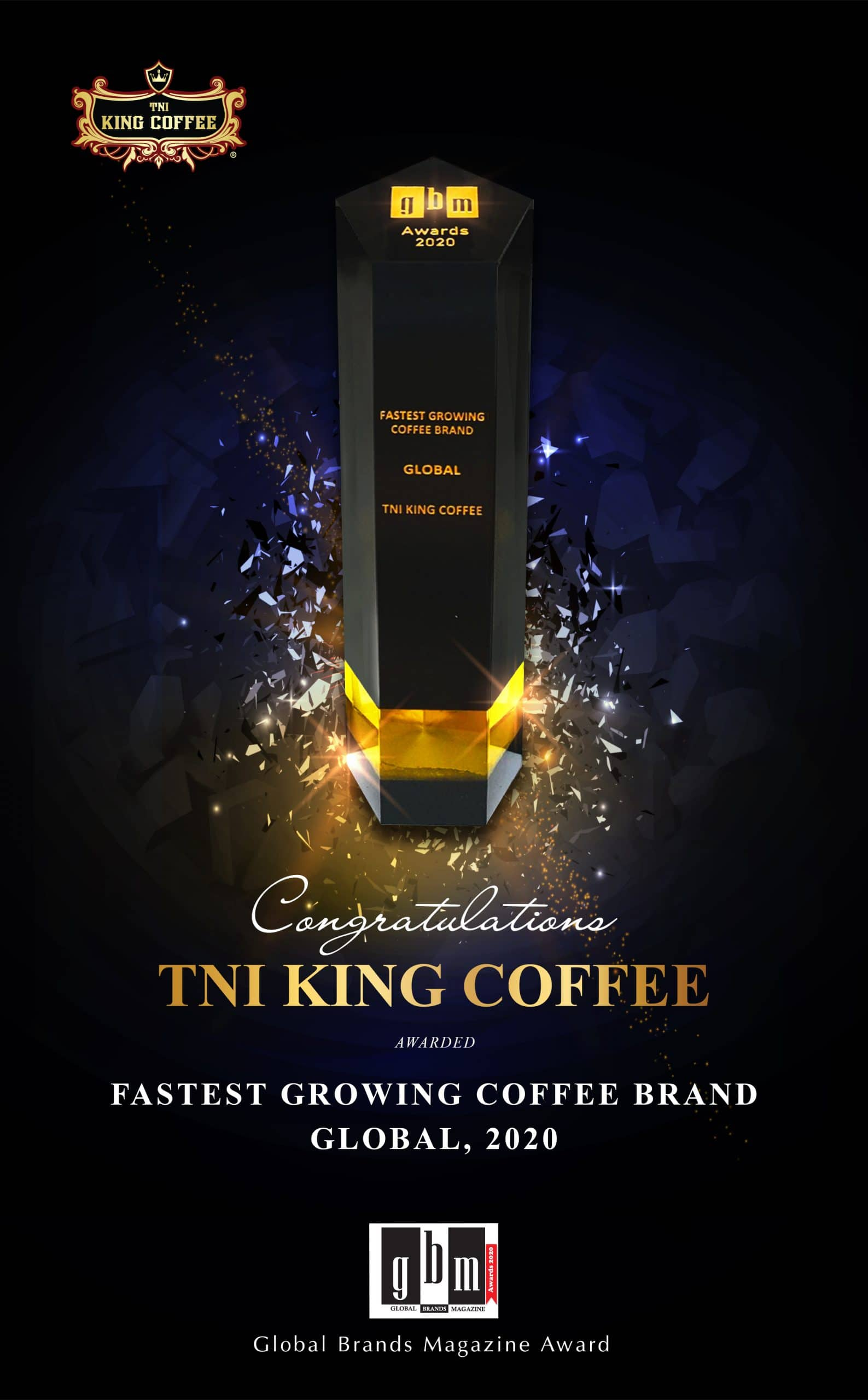 WORLD'S FASTEST COFFEE BRAND: TNI KING COFFEE