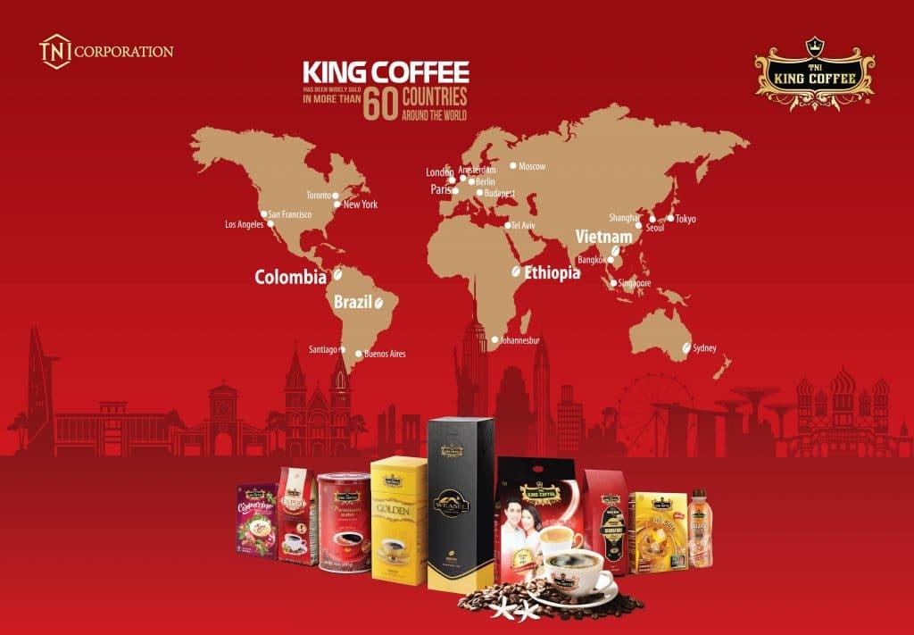 WORLD'S FASTEST COFFEE BRAND: TNI KING COFFEE