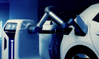 Volkswagen Car Charging Robot