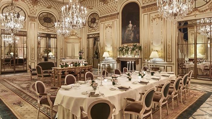 Restaurant Le Meurice, Paris, France
