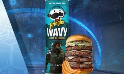 Attention Halo-Verse: Pringles® Launches New Limited-Edition Wavy 'Moa Burger'