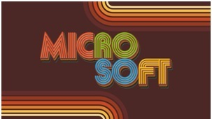 Learn Your Brand History: Microsoft's logos was rockin' in the 80s