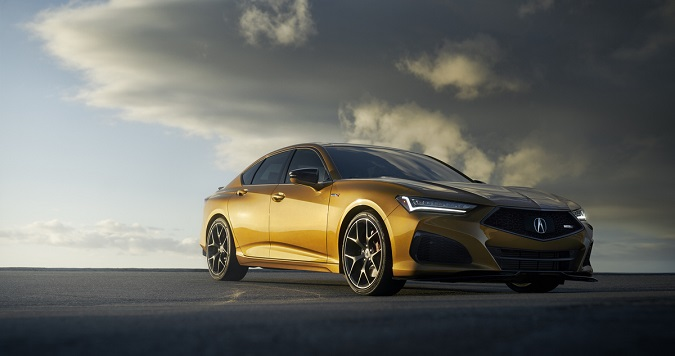Highly Anticipated 2021 Acura TLX Type S To Arrive at Dealerships Mid-June