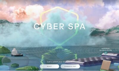 Keep Calm And Relax: Kaspersky Presents Cyber Spa, A Digital Space For Complete Relaxation
