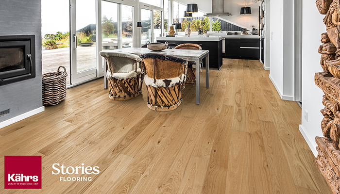 Stories Flooring Teams Up with Kahrs Flooring as a Platinum Reseller