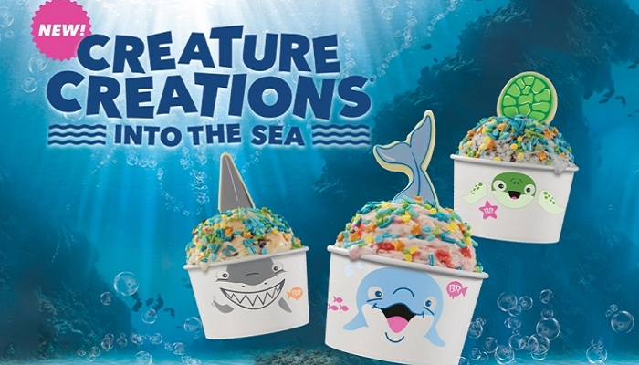 Baskin-Robbins' New Creature Creations® Are the Perfect Scoop of Summer and Sea-Inspired Fun