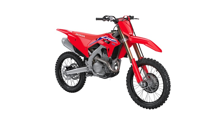 All-New CRF250R is Lighter, Faster, Stronger for 2022
