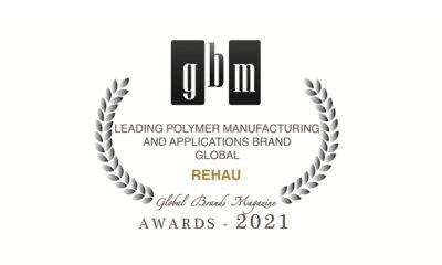 REHAU wins an International Award