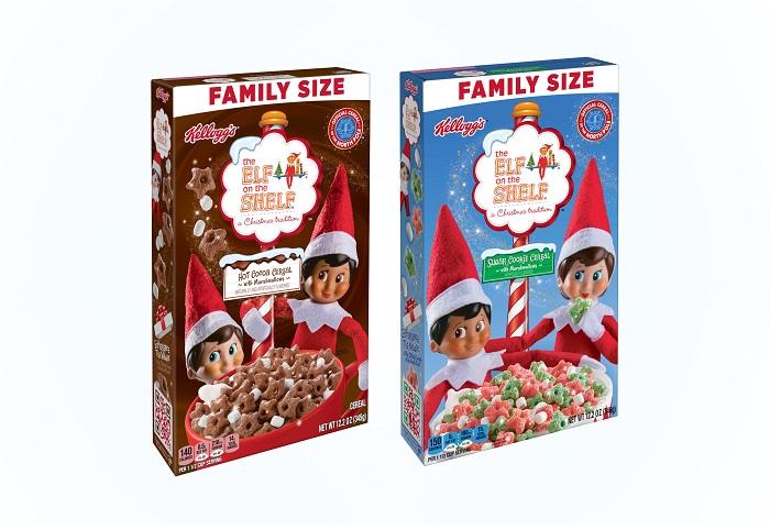 Kellogg Company - Elf on the Shelf Cereal